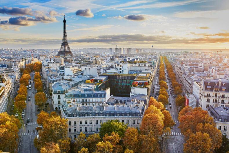 travel destinations paris